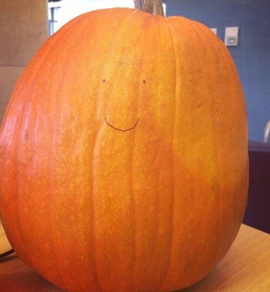 finsished my pumpkin